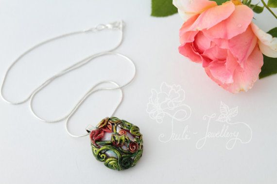 Elladan necklace by Tuilejewellery on Etsy