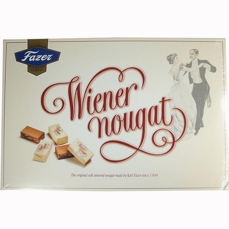 Karl Fazer Wiener Nougat In milk chocolate -- exquisite!