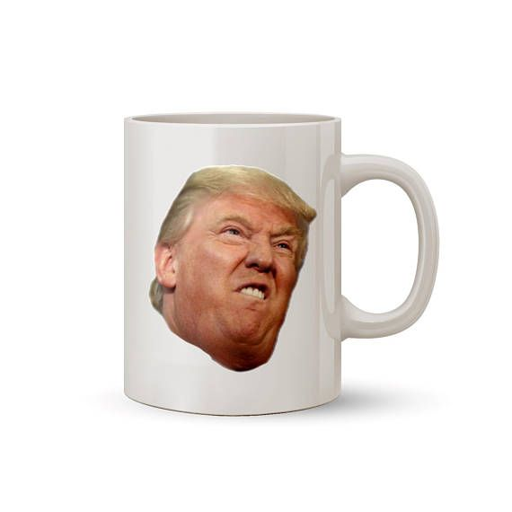 Funny Donald Trump Face Mug Coffee/Tea Mug  Perfect Gift for