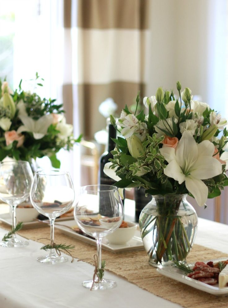 Use A White Curtain Panel From Ikea As A Tablecloth