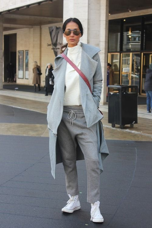 love this. Casual grey!