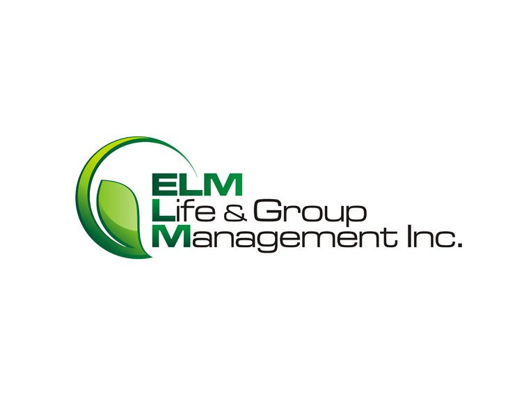 Professional Logo Design for ELM Life & Group Management Inc.