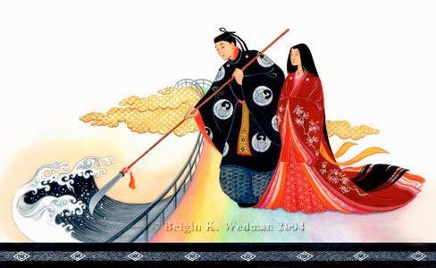 L'inevitabile voglia di scrivere: Mitologia Giapponese - Il mito della creazione