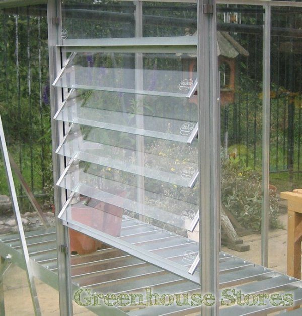 Elite Greenhouse 5 Blade Louvre Window   http://www.greenhousestores.co.uk/Elite-Silver-5-Blade-Louvre-Vent-Frame.htm