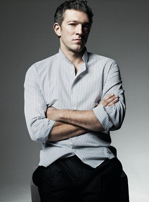 entropycomeseasy: Vincent Cassel, Yves Saint-Laurent.    My bodice just ripped open.