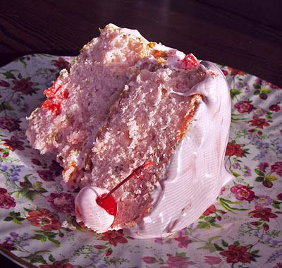 maraschino cherry cake with fluffy cherry frosting: Hungry Soul, Most Popular Recipes, Cherries Cakes, Cherries Frostings, Fluffy Cherries, Pink Cloud, Cherry Frosting, Birthday Cakes, Maraschino Cherries