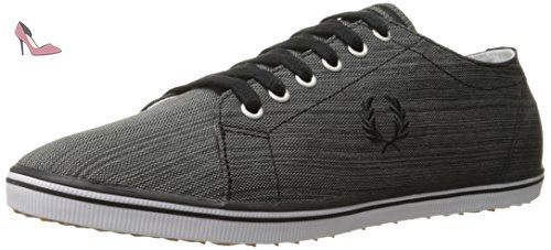 Fred Perry Kingston Space Dyed Nylon B9056102, Basket - 41 EU - Chaussures fred perry (*Partner-Link)