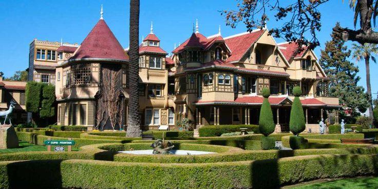 A assombrada mansão Winchester