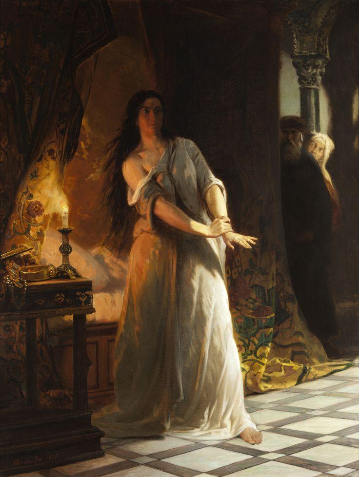 Charles Soubre 1821‐1895 Lady Macbeth 1877 Atr 9