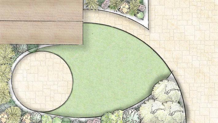 Small Garden Design   Owen Chubb Garden Landscapers