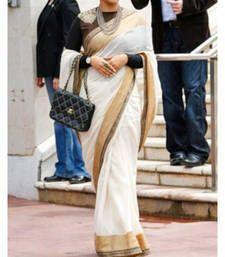 Buy Vidya Balan Indian Traditional Bollywood Designer Partywear saree, Fancy Saree vidya-balan-saree online
