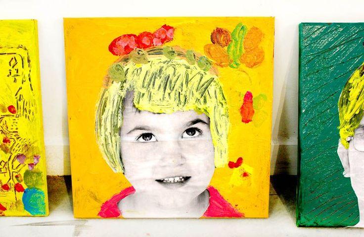 Child art at Nest Studio
