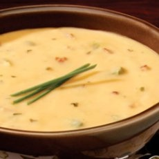 Wisconsin Cheese Soup....I love this stuff!!