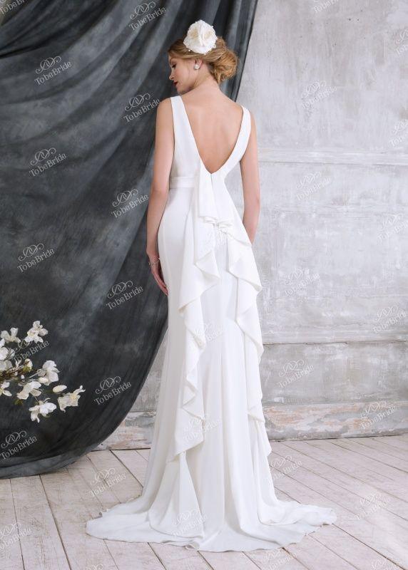 NN010Свадебное платье с рукавом, свадебное платье с открытой спиной