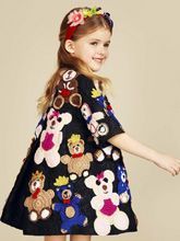 """16-17 sonbahar ve kış çocuk giyim """"Dolce & Gabbana"""" lüks moda dergisi 75731 portföyü ile 2016-2017 sonbahar ve kış erkek ve kız"""