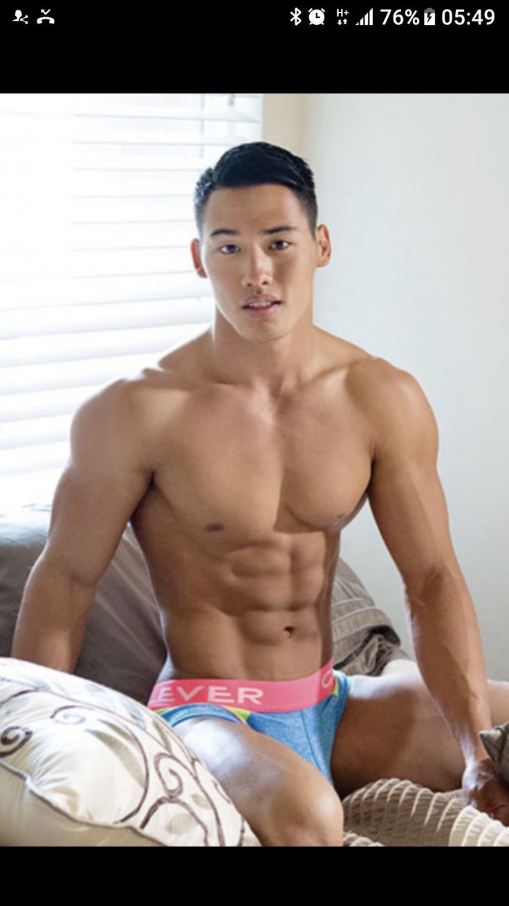 Hot naked male asian