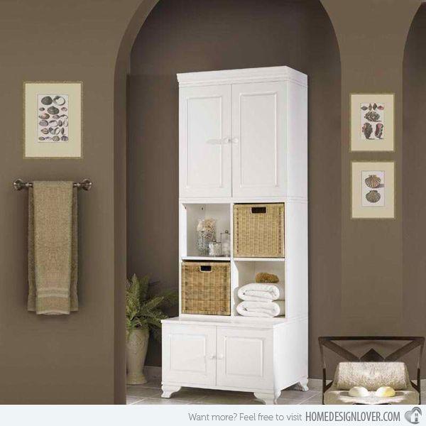Brilliant Cabinet Designs For Bathrooms Bathroom Storage Ideas