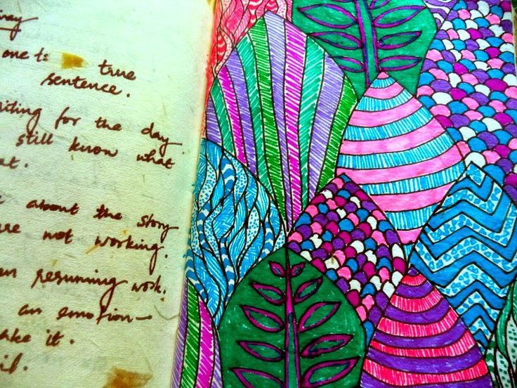Prabha Zacharias : From the sketch book: Exploring pattern