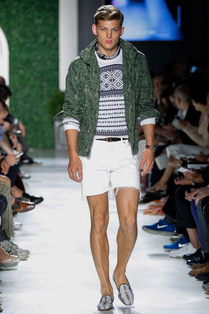 prep x military style done right michael bastian spring 2016 menswear new york fashion week. Black Bedroom Furniture Sets. Home Design Ideas