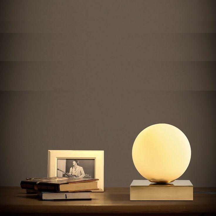 led e14 Nordic Iron Glass Designer LED Lamp.LED Light.Table Lamp. Desk Lamp.LED Dest Lamp For Bedroom Study Foyer Corridor