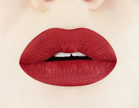 Rich Rosewood Matte Liquid Lipstick.  Glossy to Matte by Aromi