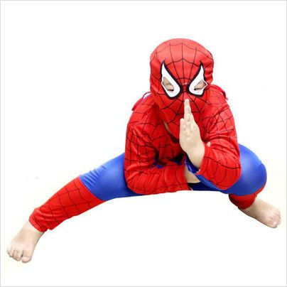 Boy's Kids Spiderman Age Outfit 6-7 Year Old Fancy Dress Costume on eBid United Kingdom