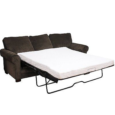 Sofa Bed Mattress Queen Size Memory Foam Comfort Replacement Cool RV Play Tent