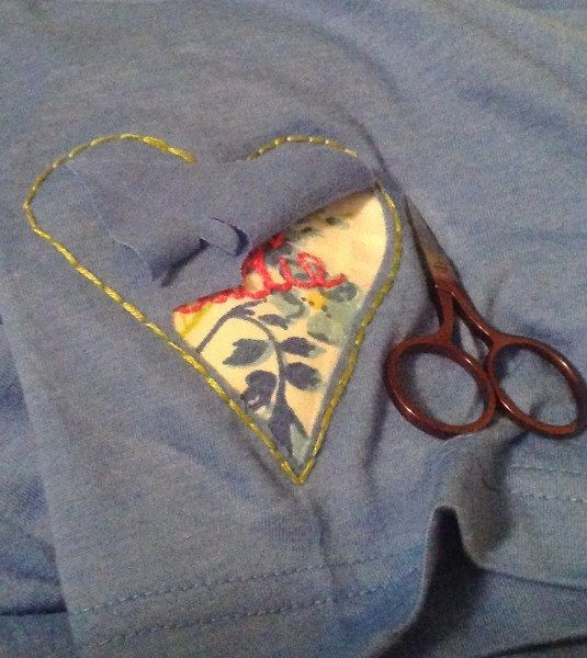 Reverse Applique | Sewing projects | Pinterest