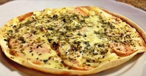 Pizzaioca é segredo de nutricionista para matar vontade de comer pizza sem engordar