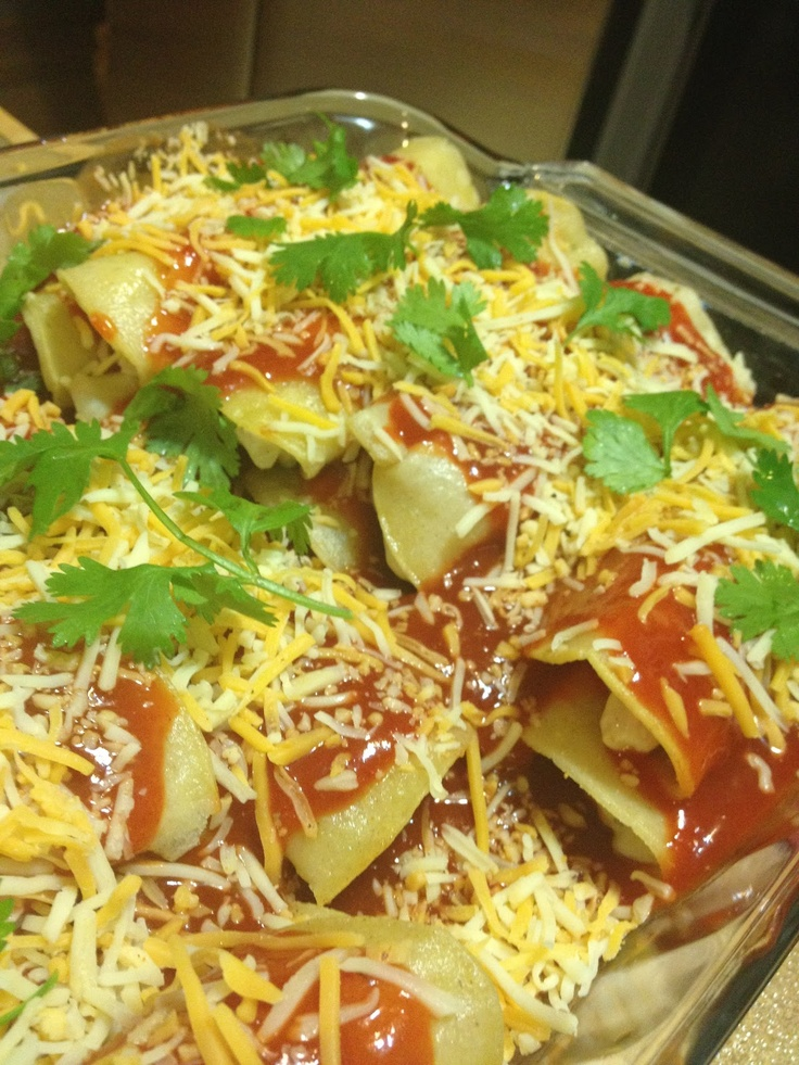 """ Sour Cream Chicken Enchiladas""....  These are so yummy... a must try!"