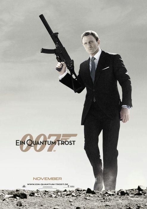 Poster zum Film: James Bond 007 - Ein Quantum Trost