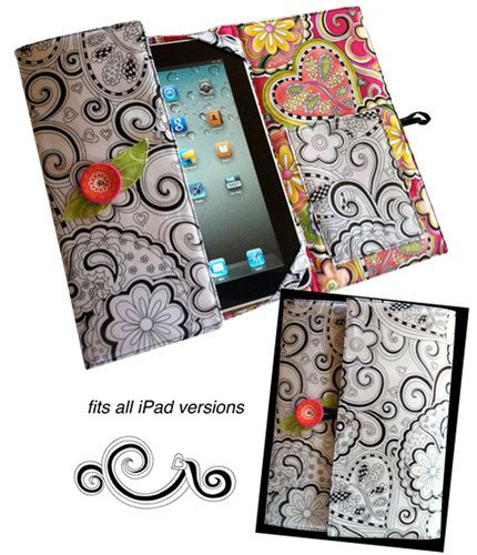 Pattern  Hip iPad Cover Pattern  Sew up this trendy cover for your favorite techie toy and youll be toting your iPad in hip, fresh, original