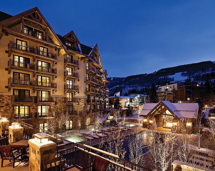 Many of our rooms have glorious views of Vail Mountain.