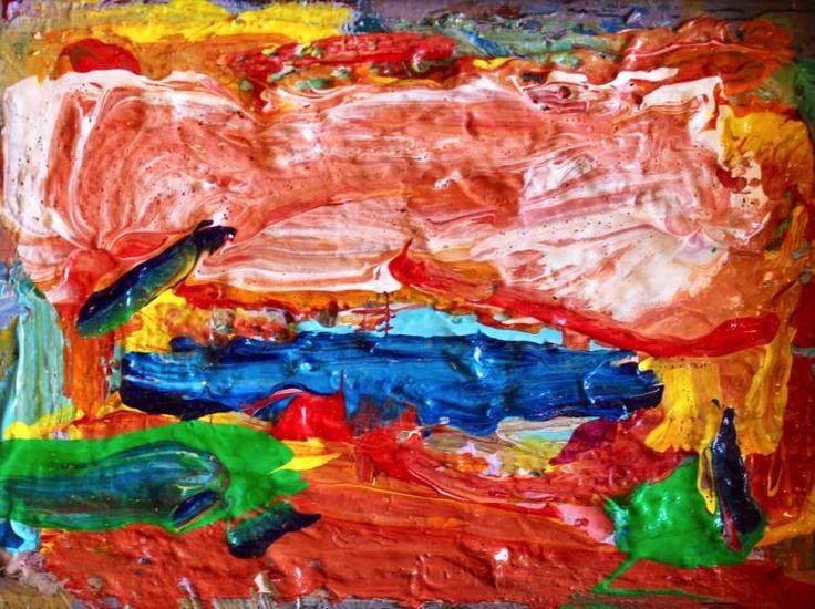 "Paul Chidlaw (1900-1989), ""Sea Breeze"", Original oil painting"