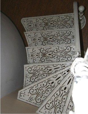 Декоративные ступени