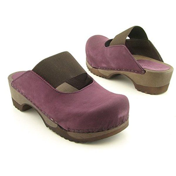 Sanita Women's Ellen Open Clogs,Purple,35 M EU / 5 B(M) US