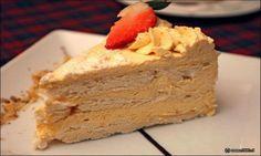Torta de merengue lúcuma: la reina de los postres chilenos