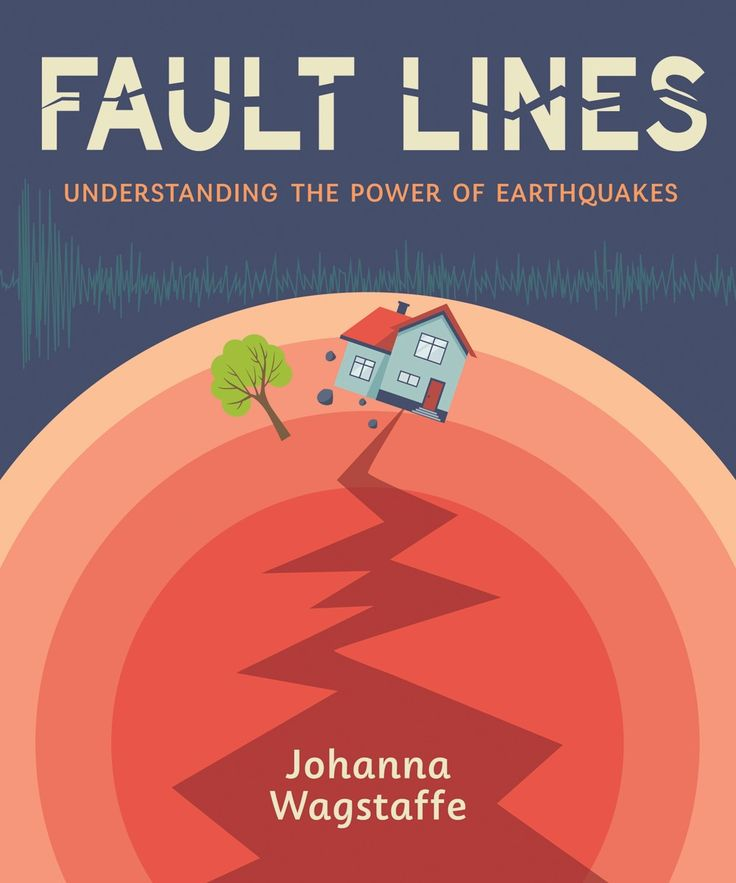 Drop, cover and hold on. FAULT LINES: UNDERSTANDING THE POWER OF EARTHQUAKES by Johanna Wagstaffe
