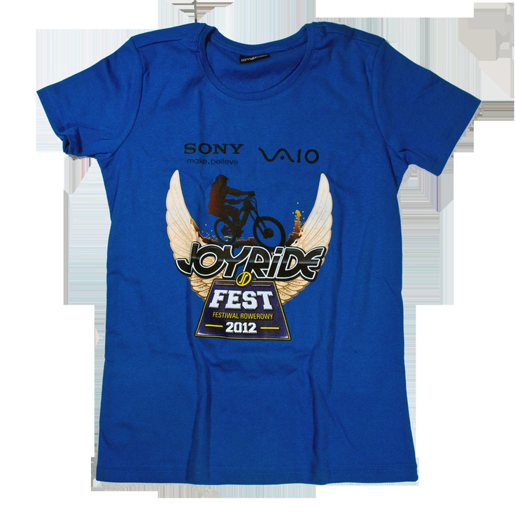 Joy Ride Fest 2012 girls t-shirt