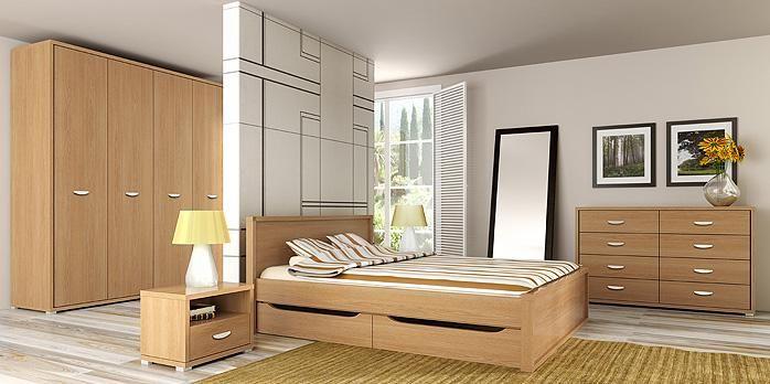 Sypialnia z kolekcji CLARO to idealna propozycja dla osób ceniących minimalizm i funkcjonalność. Polecamy!