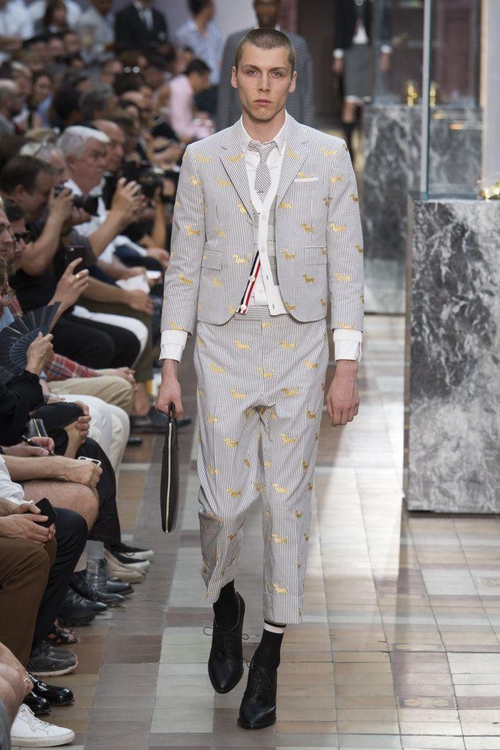 Thom Browne | Menswear - Spring 2018 | Look 17