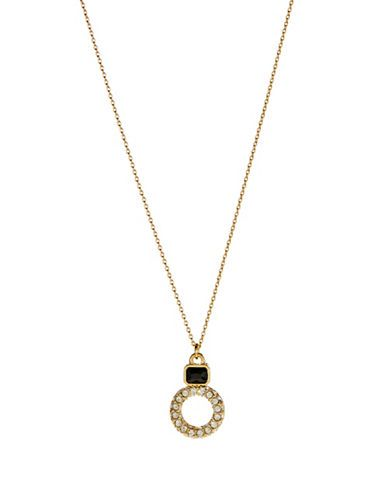 Kate Spade Platform Chain Scatter Necklace | Lord and Taylor