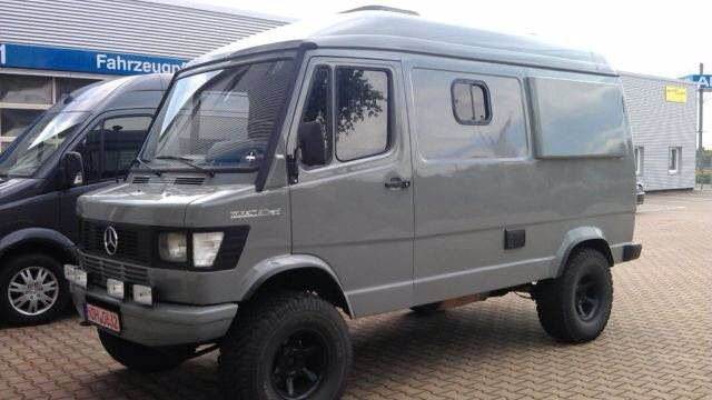 Mb 309 4x4 Camper Motorhome Rv Furgo Autocaravanas