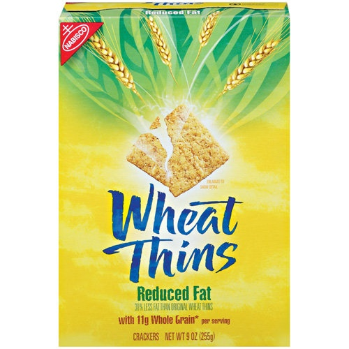 Nabisco Wheat Thins Reduced Fat Crackers | Healthy | Pinterest
