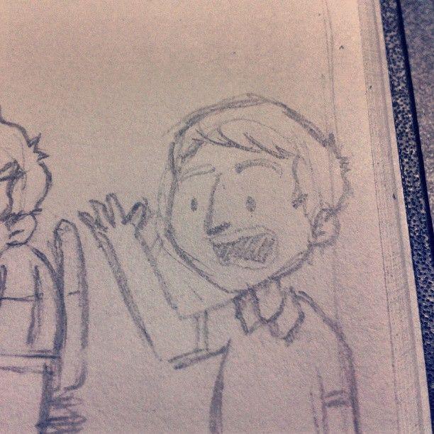 Littles sketches #sketch #sketchbook #doodle #comics
