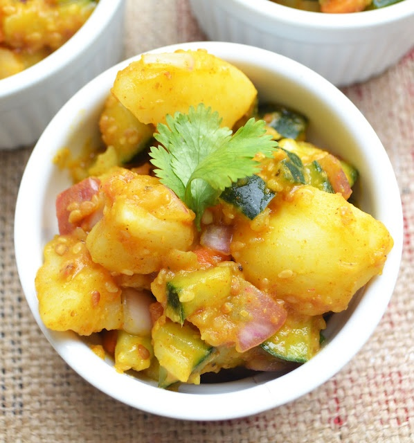 143 best nepal images on pinterest cooking food cooking recipes food pleasure health potato salad nepali style forumfinder Images