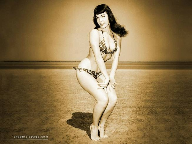 Bettie Page documentary - must keep my eyes peeled for that one!