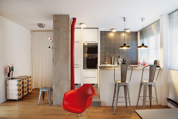 L 39 entr e d 39 un petit appartement donne directement sur un Donne salle a manger