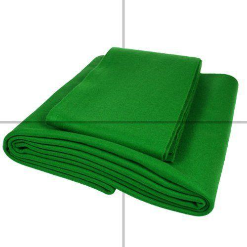 ClubKing Ltd - Tela para mesa de billar americano (base y cubierta, 213,3 x 121,9 cm), color verde #billares #americano