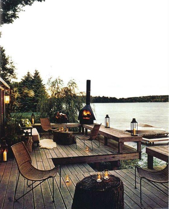 spring. Magnifico espacio de relax por Abigail Ahern.